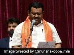 New Karnataka Minister Called To Raj Bhavan, Administered Oath For 2nd Time