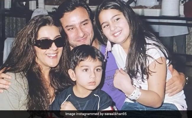 Sara Ali Khan's Birthday Post Celebrates End Of Her 'Quarter Century.' Bonus: Throwback Pics Of Amrita Singh, Saif Ali Khan