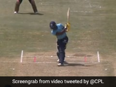 """Watch: Andre Fletcher's """"No Look Six"""" In CPL Match Is A Thing Of Wonder"""