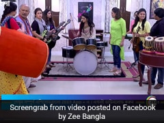 Playing Drums While Standing? Bengali TV Show Trolled For This Viral Scene