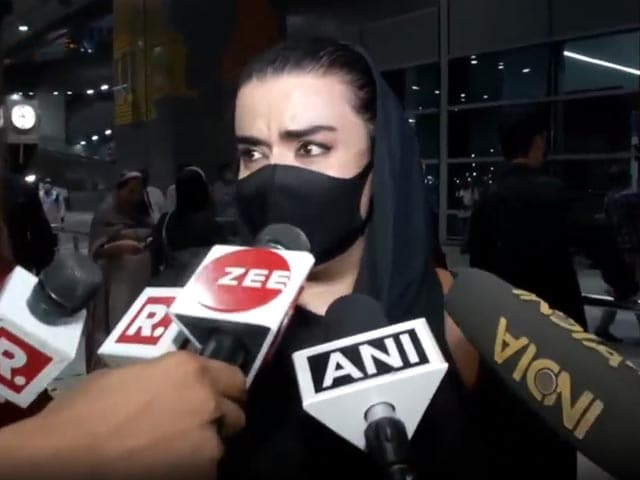 """Video : """"Taliban Will Kill Us"""": Afghan Woman Upon Arrival In Delhi From Kabul"""
