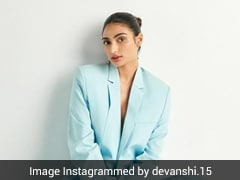 No Weekday Blues With Athiya Shetty's Cool Blue Pantsuit To Get Us In The Weekend Groove