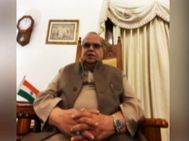 """Video : """"Don't Love Post"""": Meghalaya Governor Targets BJP Over Farmers' Protest"""