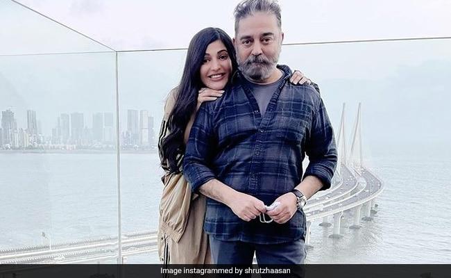Shruti Haasan's Dad Kamal Haasan Is Her