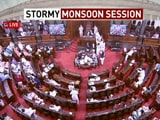 """Video : 6 Trinamool Rajya Sabha MPs Suspended For Today Over """"Disorderly"""" Conduct"""
