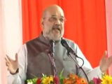 """Video : Yogi Adityanath Took UP To """"Top Spot"""": Amit Shah On State's Law And Order"""