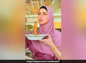 From Breakfast To Lunch: Sana Khan's Maldives Vacation Is All About Good Food