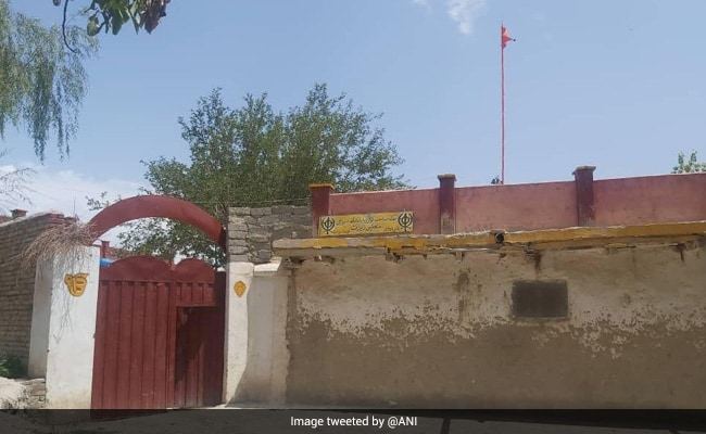 Sikh Holy Flag At Afghanistan Gurudwara Removed By Taliban Restored: Official