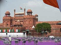 PM's Address On 75th Independence Day Shortly, Olympians At Red Fort