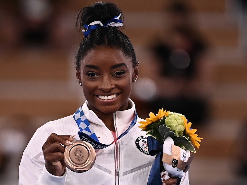 """Tokyo Games: """"It Means More Than All The Golds,"""" Says Simone Biles After Priceless Olympics Bronze"""