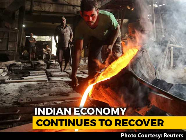 Video : April-June Quarter GDP Expands 20.1% Compared To First Quarter Of 2020-21