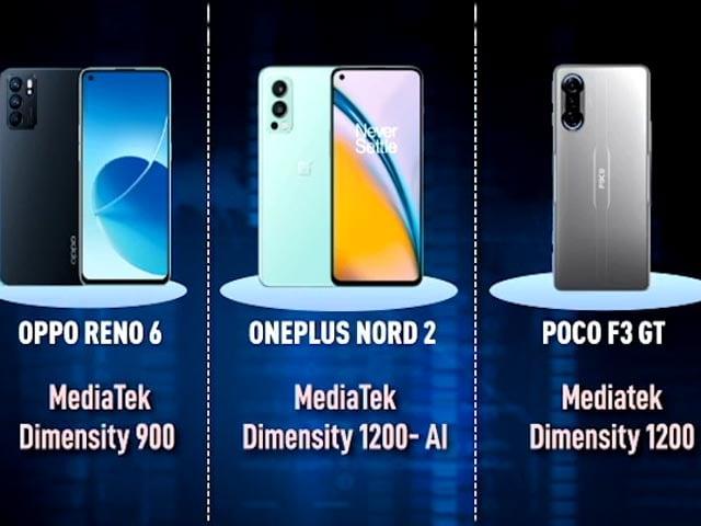 Video : Oneplus Nord 2 Vs Poco F3 GT Vs Oppo Reno 6