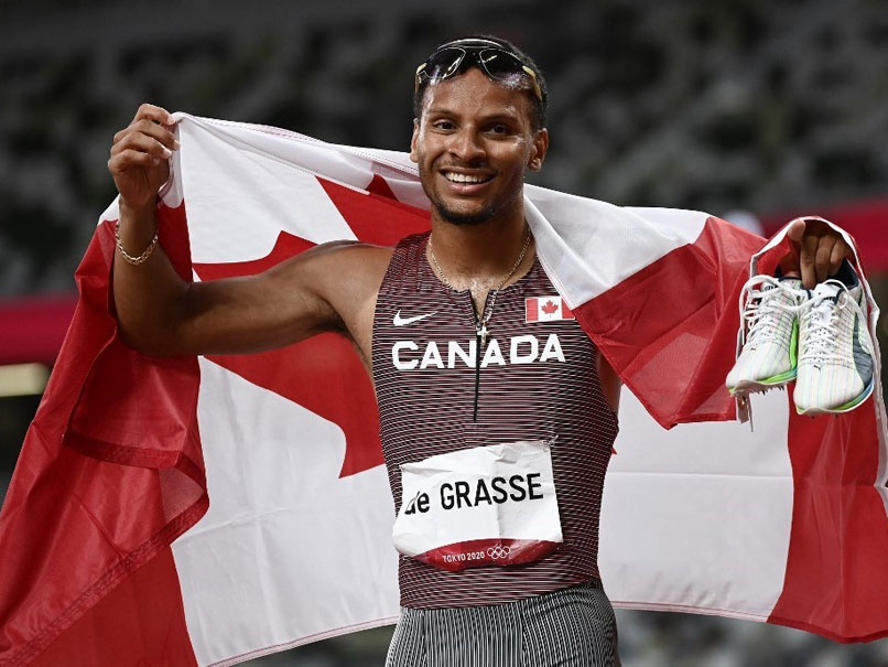 Tokyo Olympics: Andre De Grasse Upstages Noa Lyles To Win 200m Gold