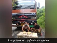 In Record Haul, Drugs Worth Rs 10 Crore Seized In Mizoram
