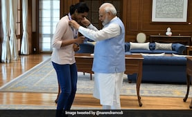 Sindhu 'Will Now Have Ice-Cream With PM', Says Father After Tokyo Heroics