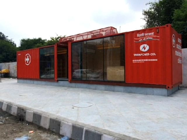 """Video : """"Just Like An Airplane"""": Delhi Makes Mohalla Clinics From Containers"""