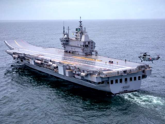 Video : Watch: NDTV On Board India's First Indigenous Aircraft Carrier Vikrant