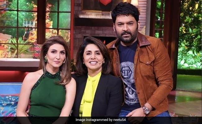 Kapil Sharma's New Guests Are Neetu And Riddhima Kapoor. See Pics