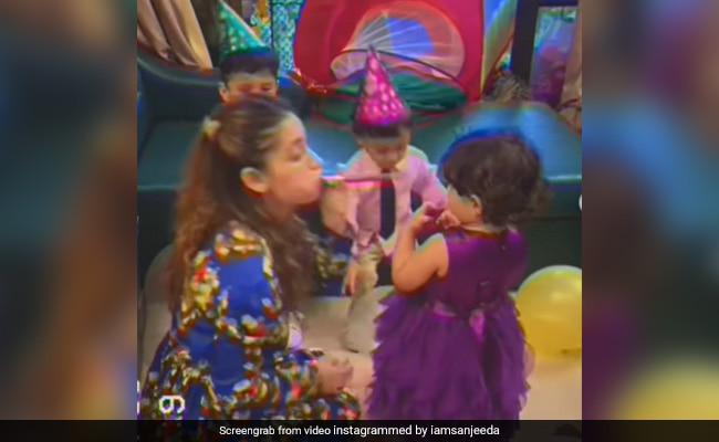 Sanjeeda Shaikh Had This Much Fun At Little Daughter Ayra's 2nd Birthday Party