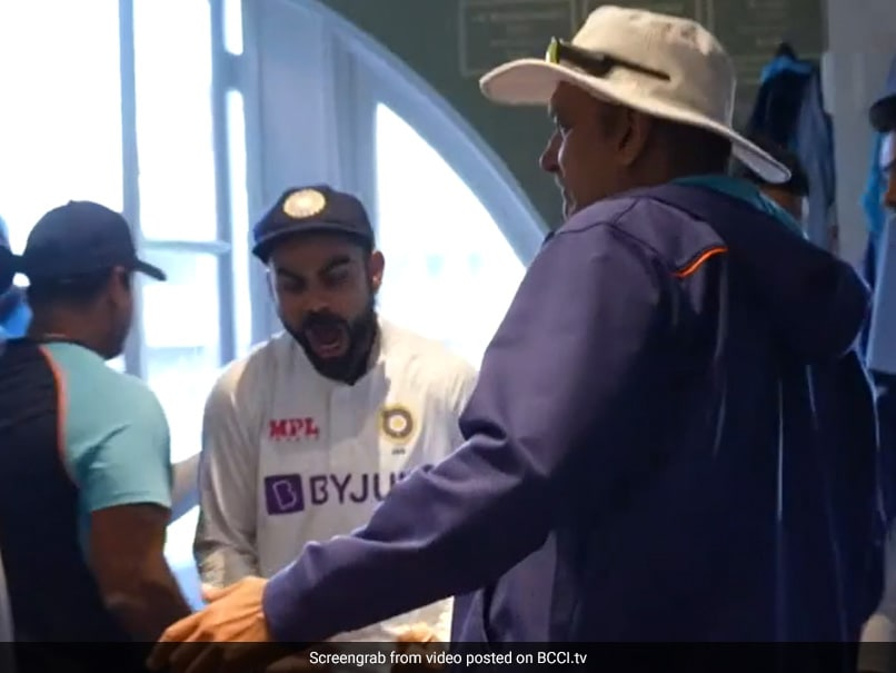 """Watch: """"Range Of Emotions"""" In Indian Dressing Room After Thrilling Win At Lords"""