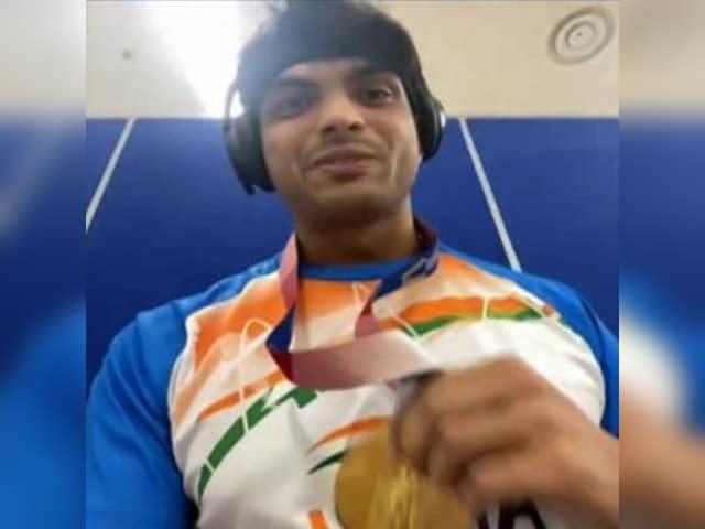 Video : Neeraj Chopra Thanks Coach Jaiveer Singh