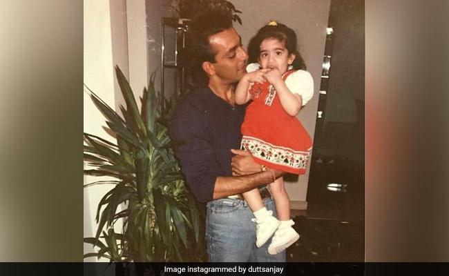 Sanjay Dutt's Birthday Wish For Daughter Trishala Is Everything