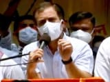 Video : Centre Wants To Suppress Voice Of Youth: Rahul Gandhi