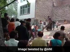 1 Killed, 3 Injured As Building Collapses In Northeast Delhi: Police