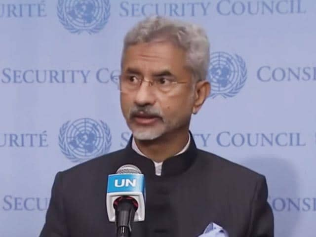 Video : Foreign Minister Asked If India Is In Touch With Taliban. His Reply