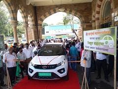 Tata Motors Presents Nexon EV To Municipal Corporation Of Greater Mumbai