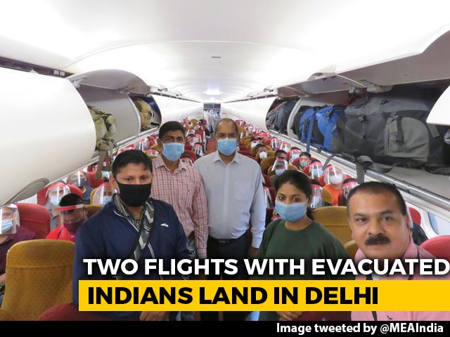 Video : 2 Flights With Indians Evacuated From Kabul Land In Delhi