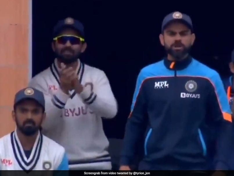 Watch: Virat Kohli All Charged Up After Jasprit Bumrahs Verbal Volleys With England Players