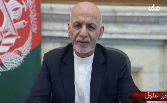 Ashraf Ghani Says 'In Talks To Return' To Afghanistan After Fleeing