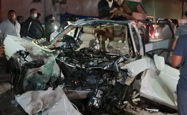 On CCTV, Audi Crash In Bengaluru. Tamil Nadu MLA's Son Among 7 Dead