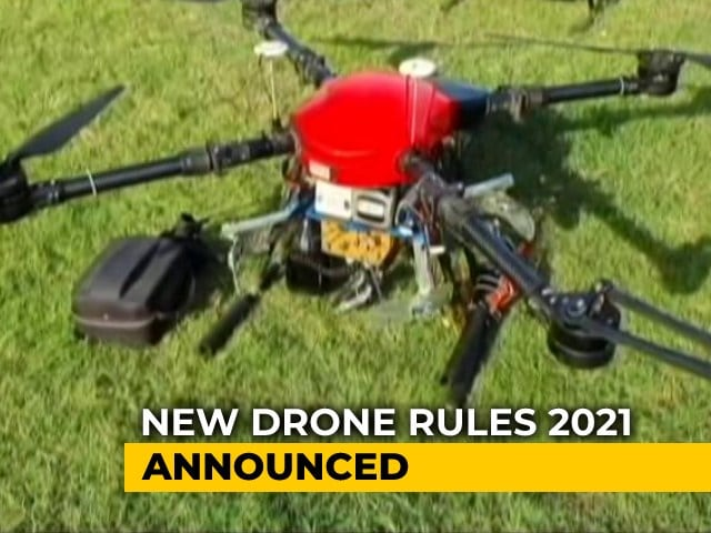 """Video : Air Taxis """"Very Possible"""" Under New Drone Policy: Aviation Minister"""