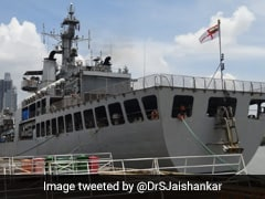 INS Airavat Arrives In Vietnam With Covid Relief Supplies