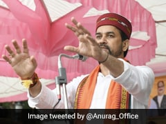 """""""Hope Congress Elects Its Party President By 2024"""": Anurag Thakur's Swipe"""