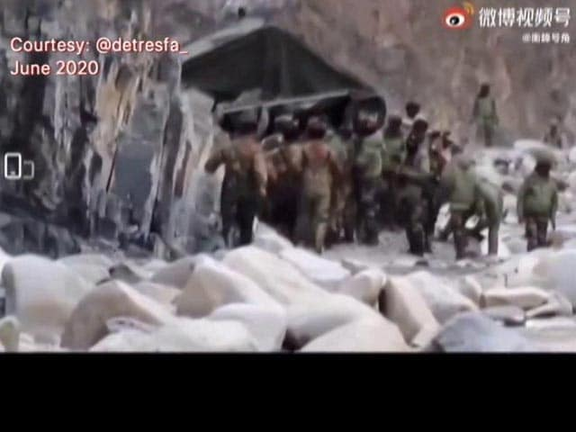 Video : China Releases Video Of June 2020 Galwan Clashes On Day Of Joint Statement