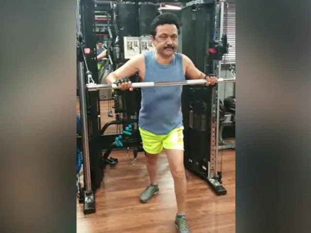 Video : Watch: MK Stalin Hits The Gym In Latest Video, Sets Fitness Goals
