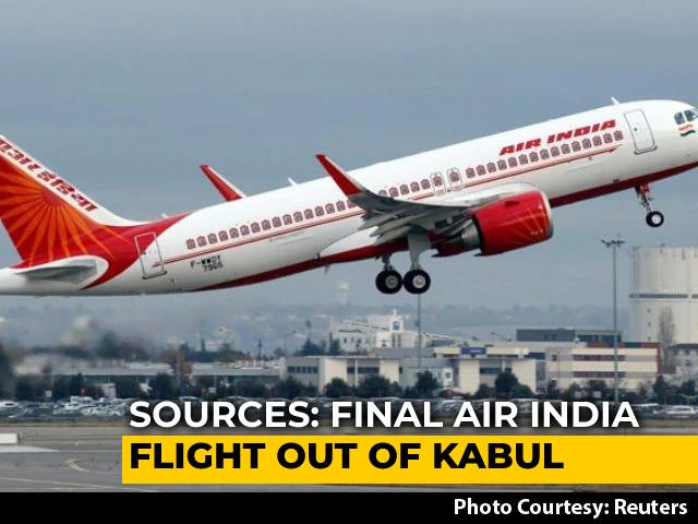 Video : Final Air India Flight Out Of Kabul, With 126 On Board, Expected In Delhi Tonight: Sources