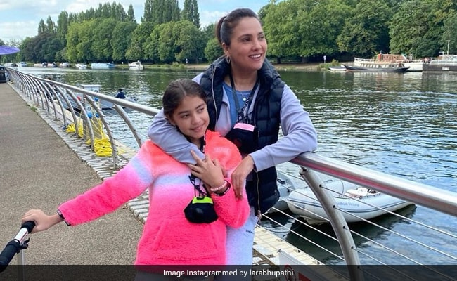 Lara Dutta's Vacation Essentials Include Daughter Saira And 'The Photographer.' Guess Who