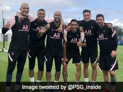 Watch: First Glimpse Of Lionel Messi Linking Up With Kylian Mbappe In PSG Training