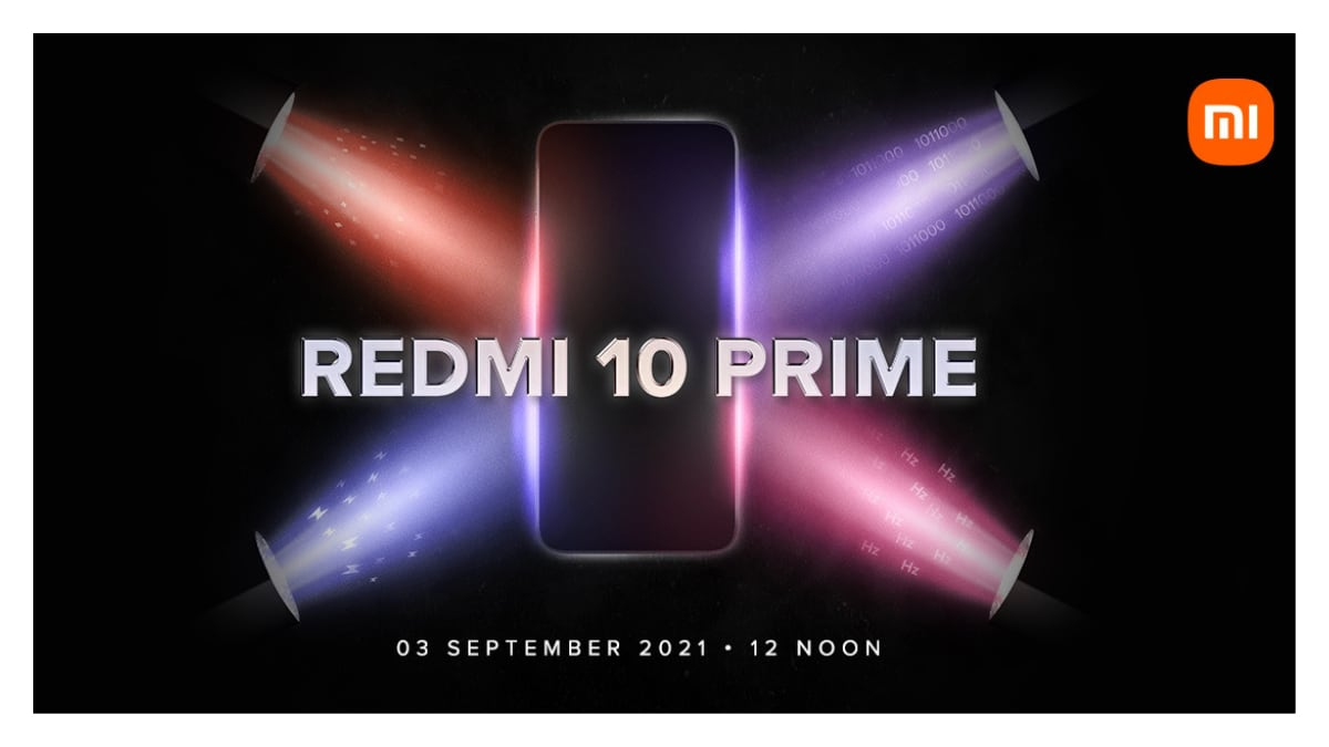 All-rounder superstar Redmi 10 Prime phones to be launched in India on September 3, company confirms