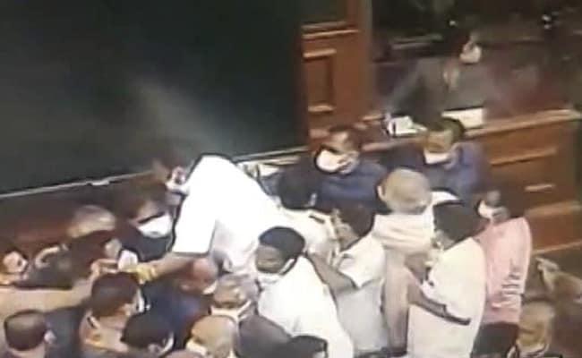 संसद के मॉनसून सत्र के दौरान हुए हंगामे की जांच को लेकर बनने वाली कमेटी को विपक्ष ने खारिज कर दिया है