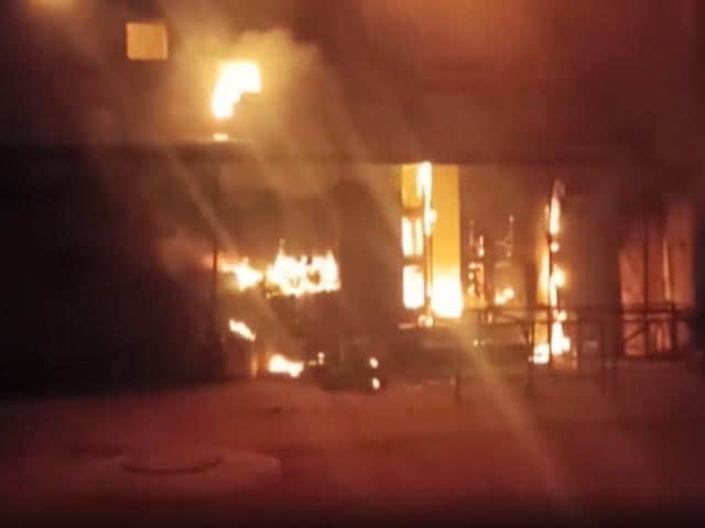 Video : Fire Breaks Out At Hyderabad's Prakash Theatre