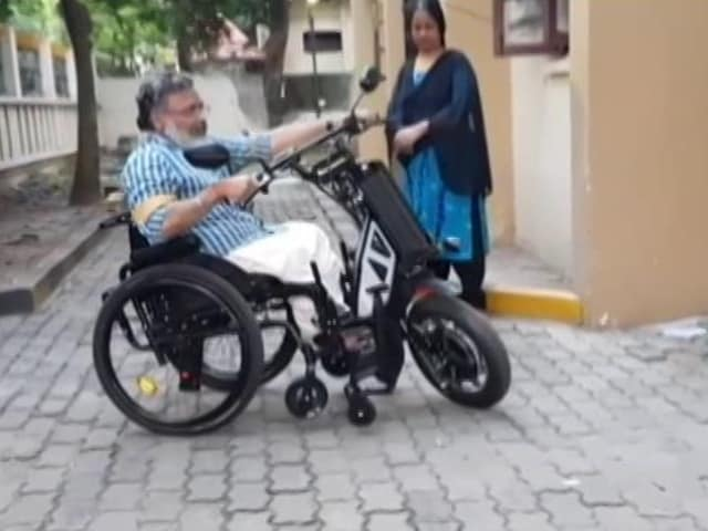 Video : Indigenous Motorised Wheelchair Vehicle By IIT Madras Start-Up
