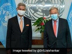 S Jaishankar Calls On UN Chief, Discusses Afghanistan Situation