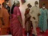 "Video : ""Like A Senior BJP Leader's Visit"": Samajwadi Party On President's UP Trip"