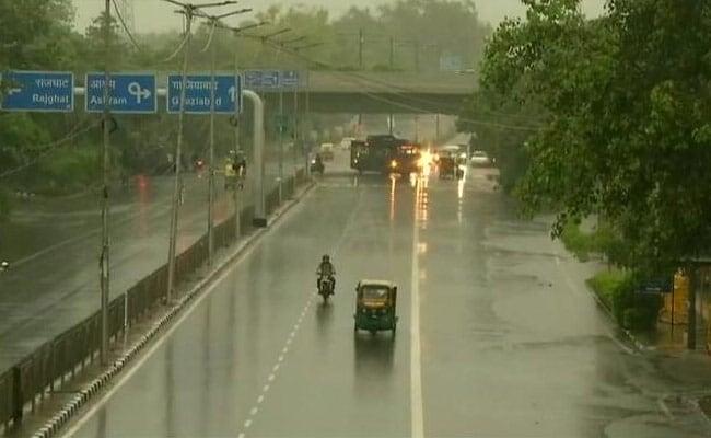 Rain Live updates: Heavy Rain Expected In Delhi, Says Weather Department