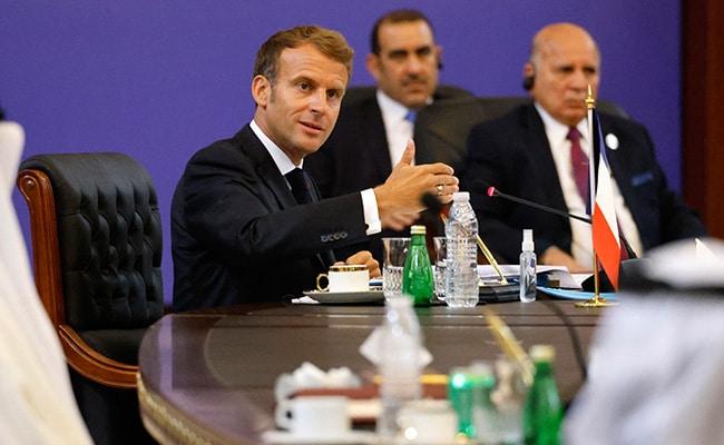 Afghanistan Overshadows Iraq Summit As France's Macron Warns Against IS